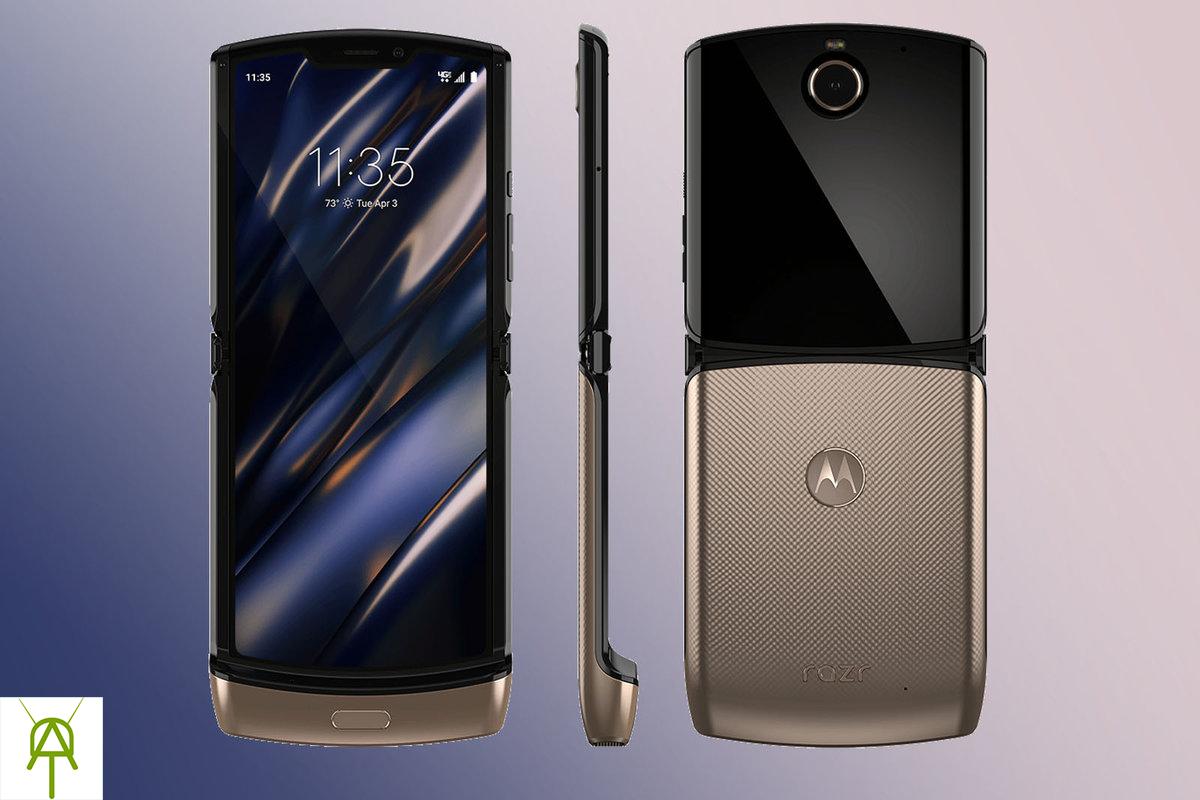 Motorola Razr - sleek design and an incredible stand on